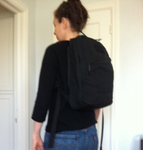 Me and my backpack