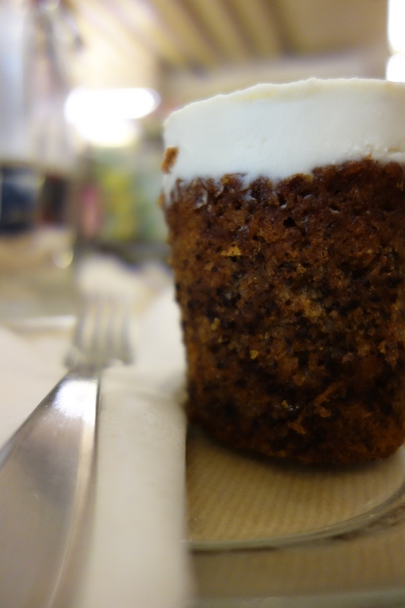 Rose Bakery's carrot cake, very strollable neighborhood