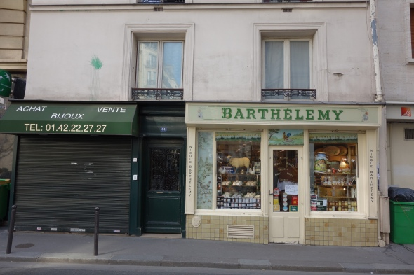 Stinkiest (and therefore the best) cheese in Paris