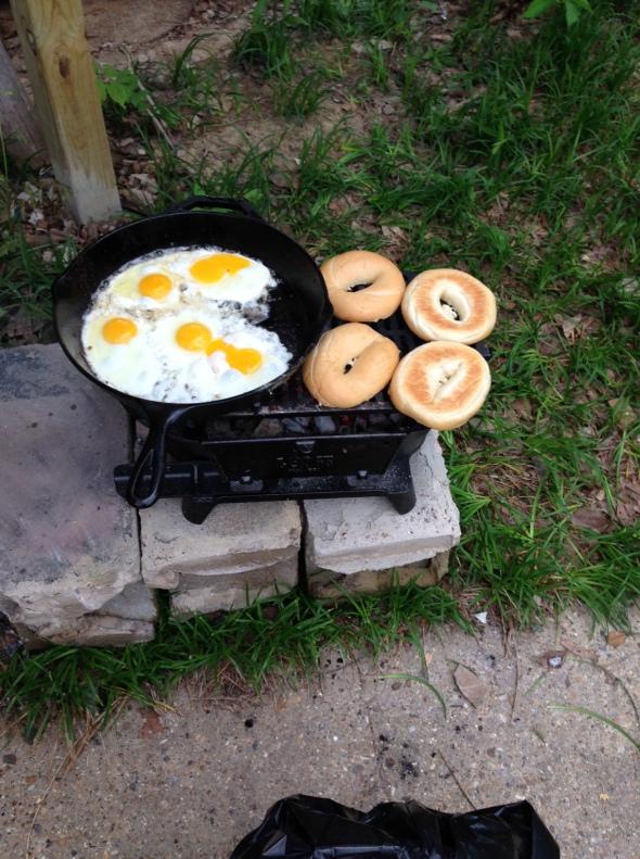 AR breakfast